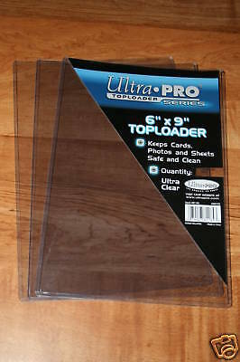 "6"" X 9""   PHOTO TOP LOADERS HIGH IMPACT RIGID PVC / 3 Pieces"