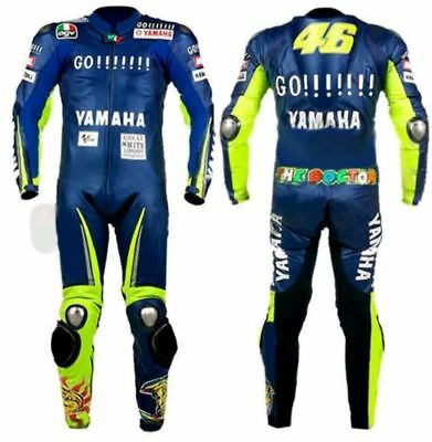 YAMAHA Motorbike leather suits MOTOGP motorcycle leather riding suits ALL SIZES