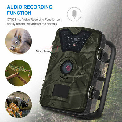 12MP 1080P Hunting Camera DVR Trail Scouting Wildlife Infrared Night Vision IP66