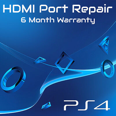 Sony Playstation 4 PS4 Slim HDMI Port Replacement Repair Service (Whole Unit)