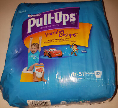 Huggies Pull-Ups 4T-5T 32 count