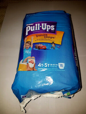 Huggies Pull-Ups 4T-5T Learning Diapers / 18ct