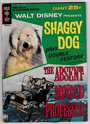 SHAGGY DOG & THE ABSENT MINDED PROFESSOR (FN-) 1967 Movie Comic Double Feature