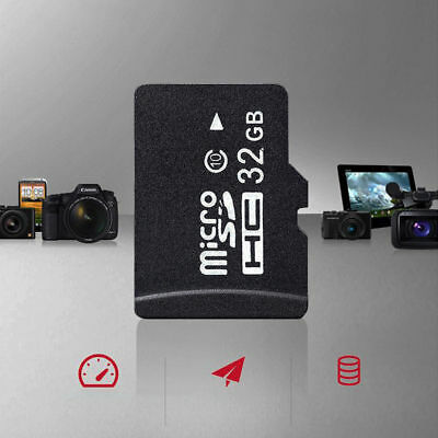 32GB Class 10 Micro SD Card with Adapter TF SDHC Flash Storage Memory Cards AUS