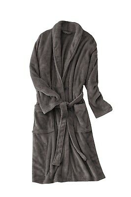 Bathrobe Dressing Gown Bath Robe Men's Women's Supersoft Coral Fleece