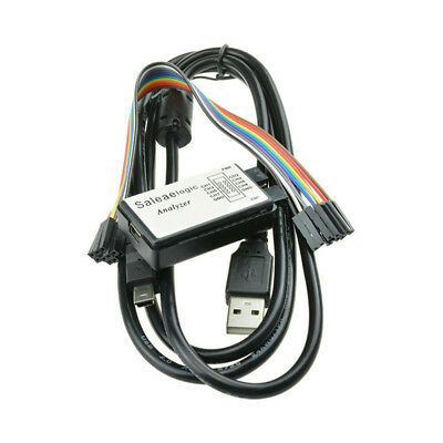 USB Logic Analyzer Device Set USB Cable 24MHz 8CH 24MHz Fits for ARM FPGA M100