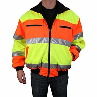 Cold Climate Safety Jacket ANSI Approved Class 3, Reversible, Fast Ship NO TAX