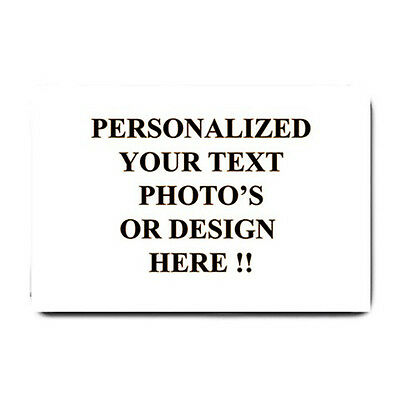 New Personalized Custom Your Logo Design Photo Text Large Doormat Free Shipping