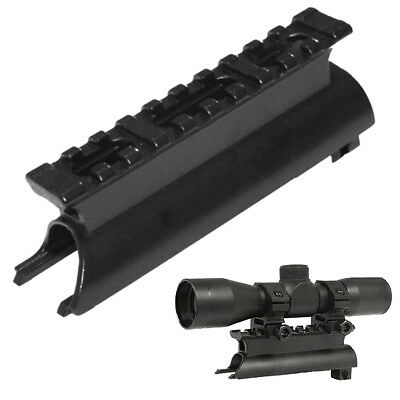 For SKS Top Receiver Cover With See-Thru Rail Weaver / Tactical 20MM Scope Mount