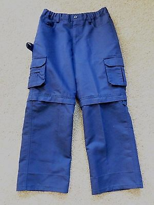 BOY/CUB SCOUTS OF AMERICA SWITCHBACK  Convertible SHORTS PANTS youth sz 14 VGUC