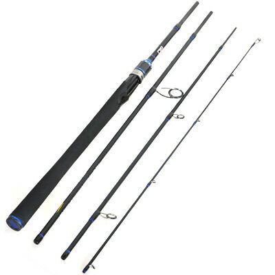 Fishing Gear 2.1m 2.4m 2.7m 4 Section Travel Fishing Rods