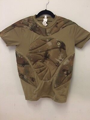 DYE Paintball Padded Performance Top Camo Size L/XL