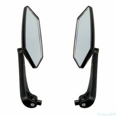 2pc Universal Scooter Rearview Mirrors Moped ATV Motorcycle Backup New ma99