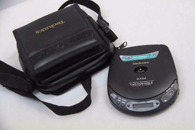 Technics SL-XP250C Car/Portable CD Player IN CDMate Carry Case #12957