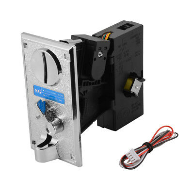Multi Coin Acceptor Selector Mechanism for Arcade Video Gaming Machine AC895