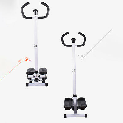 New Hydraulic Twist Mini Fitness Stepper With Resistance Ropes.