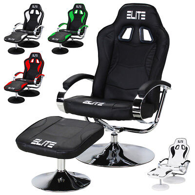 Office Chair Gaming Racing Relax Racer Footrest Manager gamingchair