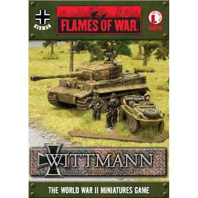 FoW-GBX16 - FLAMES of WAR: 15mm; Tank Aces - Tiger 1E Wittmann box