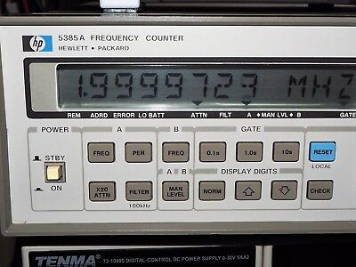 Agilent / HP 5385A Frequency Counter Meter 10 Hz - 1 GHz (not fully tested)