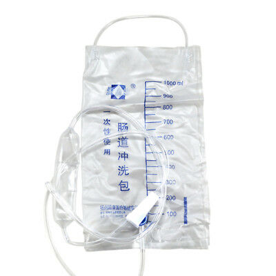 New Disposable 100ML Enema Bag Colonic Douche Cleansing Kit Medical Supplies