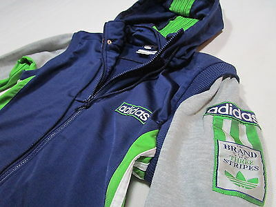 Adidas Trainings Jacke Weste Adibreak Sport Track Top Vest 90er Vintage 90s  164