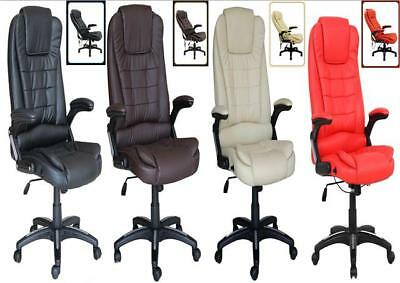 Deluxe Reclining Office Chair Executive Home Computer Desk Recliner Chair K8901