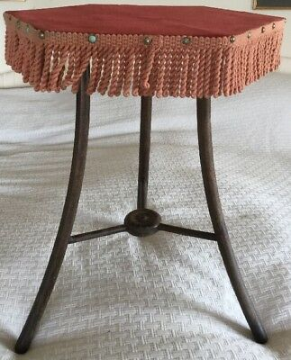 Antique Tripod Gypsy Occasional Tilting Table
