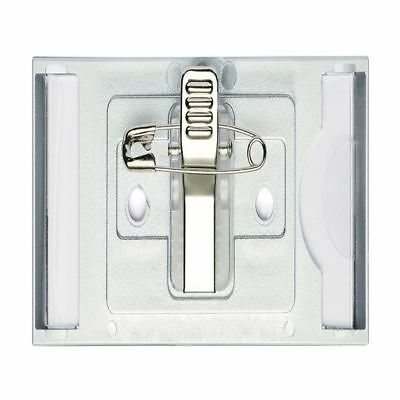 Durable Classic Clip Name Badge 30x65mm (Pack of 10) 854123 [DB80781]