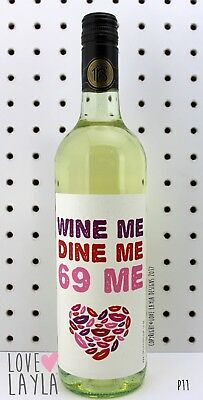 Wine Label Wine Me/Comedy/Novelty/Funny/Humour/Love Layla/#AP