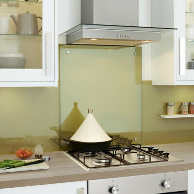 Clear Toughened Heat Resistant Glass Splashback