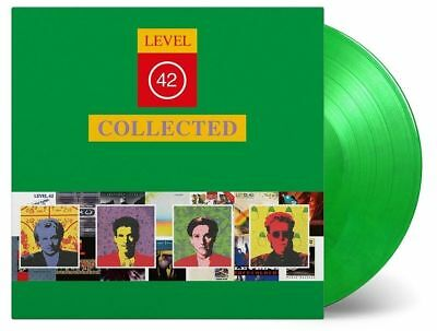 Level 42 - Collected 2x 180g GREEN COLOURED vinyl LP Best Of Greatest Hits