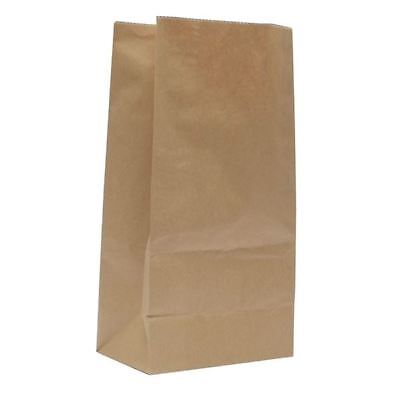 Brown W250xD150xH305mm 3.25kg Paper Bags (Pack of 500) 302165 [DC00617]