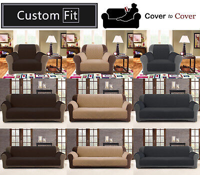 Couch / Sofa Protector for 1, 2 or 3 seater ~ Pet protector / Quilted Slipcover