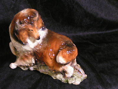 Dancing Collie Figurine by Hevener