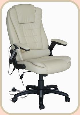 Luxury Leather Computer Study Office Chair with 8 Mode Massage Latest Design