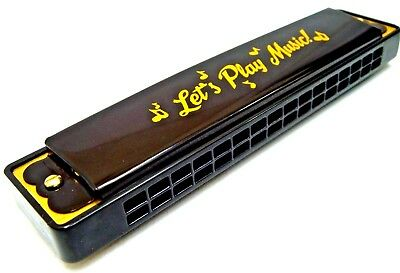 Toy Harmonica Musical Harmonicas 16 Holes Key of C Mouth Organ Guitar Sound New