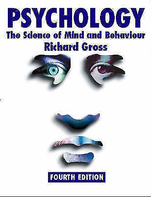 Psychology: The Science of Mind and Behaviour by Richard D. Gross (Paperback,...