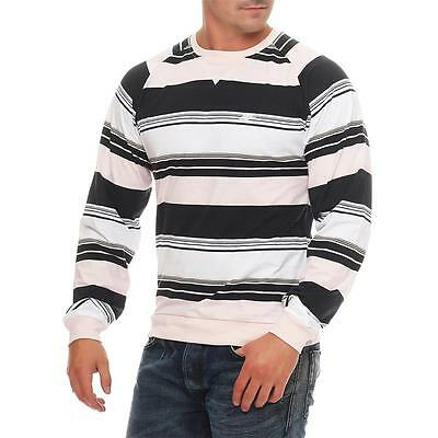 Nike Fusion Yarn Dyed Striped Crew Neck Longsleeve Crewneck Pullover Pulli