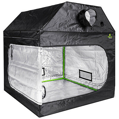 HIGH QUALITY 2.4m x 1.2m x 1.6m  LOFT ATTIC GROW TENT HYDROPONICS