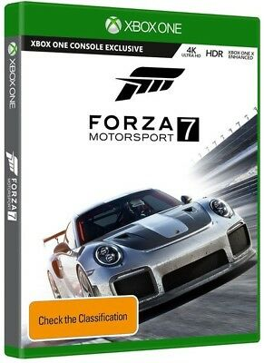 Forza Motorsport 7 (pal Import)  - Xbox One game - BRAND NEW
