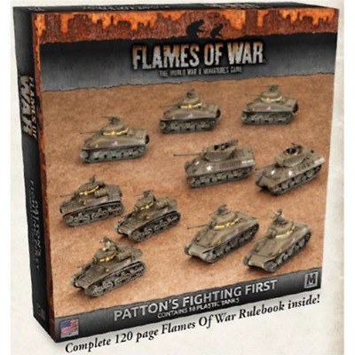 FoW-USAB08 - FLAMES of WAR: 15mm; Patton's Fighting First Army Deal
