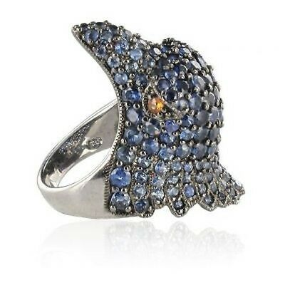 Ring Vogel Saphire Silber Ring