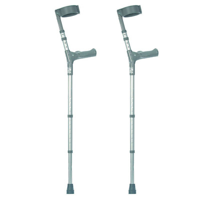 Double Adjustable Crutches with Comfy Handle Long / Tall    Pair