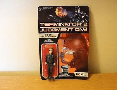 Funko Reaction Terminator 2 T1000 Hole In The Head Vintage Retro Figure Carded