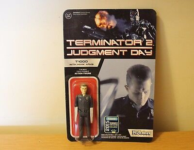 Funko Reaction Terminator 2 T1000 With Hook Arms Vintage Retro Figure Carded