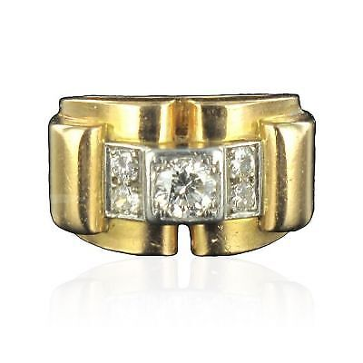 Ring tank golden diamonds Ring