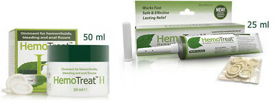 HemoTreat H Hemorrhoid ointment itching and burning sensation disappear SELECT: