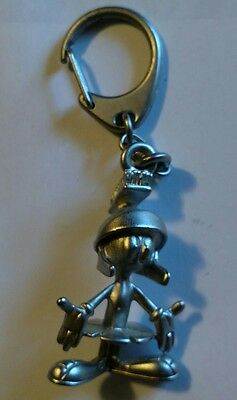 *Vintage Warner Brothers*MARVIN THE MARTIAN*Keychain*PEWTER*Key Chain**1993*HTF