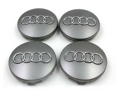 4 OEM Wheel Center Cap 4B0601170 Emblem 60mm FOR AUDI A2 A3 A4 A6 S4 S6 RS4 RS6