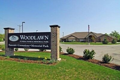 3 Adjoining Burial Plots in Woodlawn Memorial Park (Forest Park, IL)